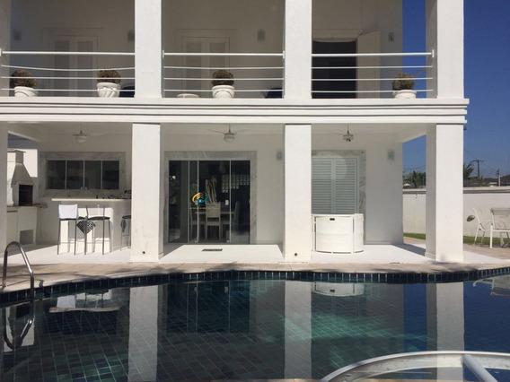 Casa De Luxo Em Condomínio/ Acapulco/guarujá/sp. Enl178