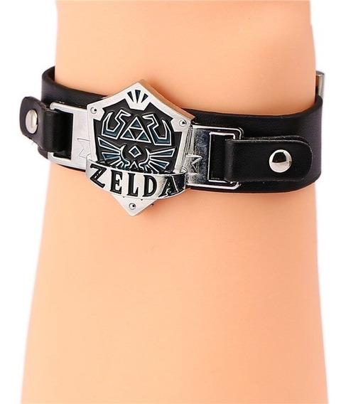 Nova Pulseira Bracelete Lenda De Zelda Anime Cosplay Geek