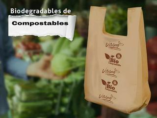 Bolsa Biodegradable Camiseta Certificada Vitabag