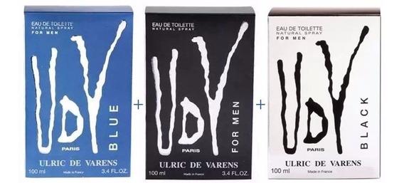 Kit Perfumes Importados Udv Ulric De Varens 100ml Cada
