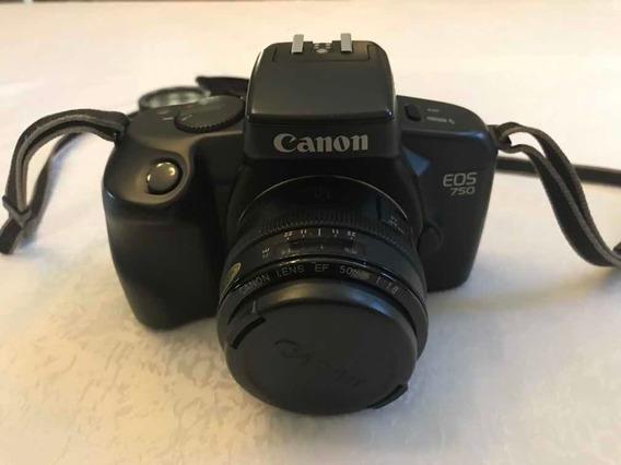 Máquina Fotográfica Cannon Eos 750