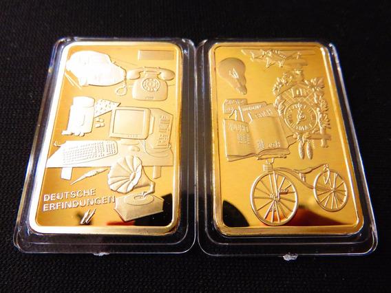 Lingote Inventos Alemanes Deutsche Fantasia Color Oro