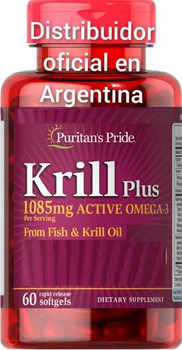 Aceite De Krill. 1085 Mg. + A. De Pescado. Precio Rebajado!!