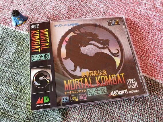 Sega Cd Mortal Kombat Original Japonês A1