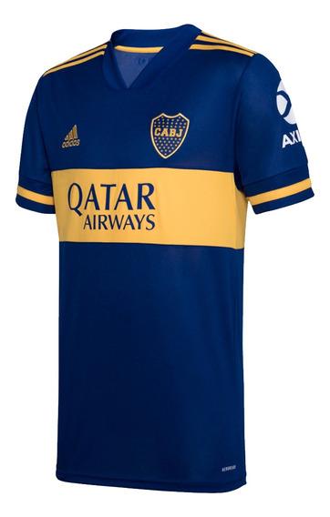 Camiseta adidas Titular Boca Jrs 20/21 Hombre Gl4175