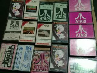 Cassette Atari 800xl - 130xe Originales De Los 80. A Elegir