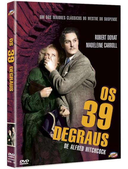 Os 39 Degraus - Alfred Hitchcock - Novo - Lacrado