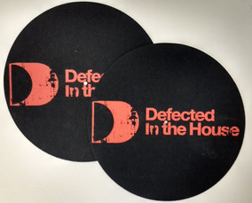 Par De Feltro Toca Discos Defected Originais
