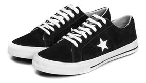 Tênis One Star Suede Black Premium All Star Original
