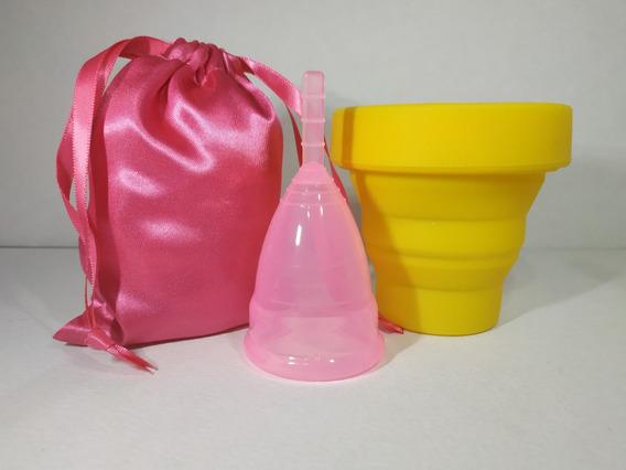 Copa Menstrual (sin Caja) + Vaso Esterilizador + Envio Grati