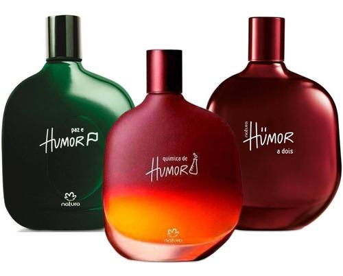 Perfume Paz E Humor, Humor A Dois, Quim - mL a $727