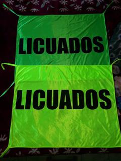 Banderas De Acetato Flúor Para Negocios 90x70cm X 2unidades