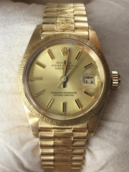 Relógio Feminino Rolex Ouro 18k