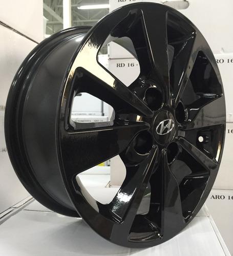 Rodas Hyundai Hb20 Aro 14 Modelo 2019/20(jogo) +bicos Grátis