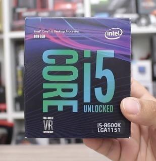 Processador Intel Core I5 8600k Coffee Lake *com Garantia*