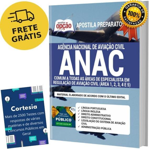 Apostila Anac - Comum As Áreas Regulação De Aviação Civil
