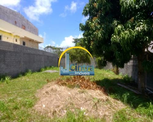 Imagem 1 de 5 de Vendo Terreno Em Itapuã Com 500m², Plano, Murado E Escriturado, R$ 550.000,00, Financia!!! - J689 - 34284397