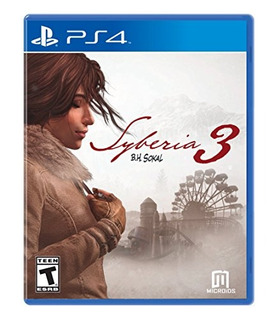 Syberia 3 - Playstation 4 Standard Edition- Envío Gratis