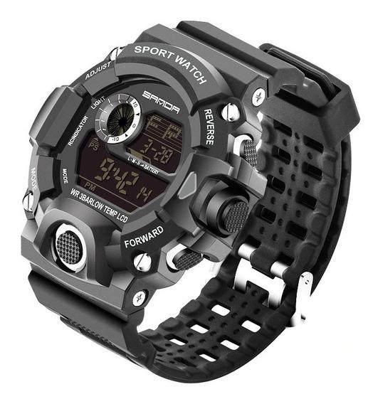 Relógio Digital Esportivo Prova Dágua 50m Militar Promoção