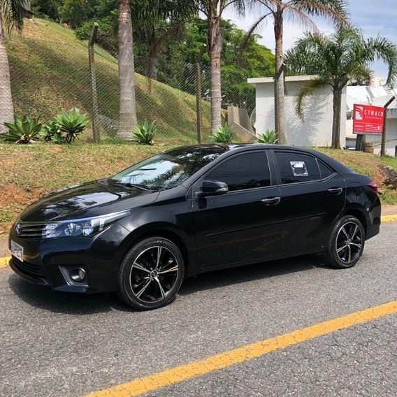 Toyota Corolla Gli Upper Black 1.8 16v Aut