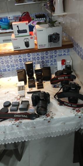 Equipamento Fotográfico Canon