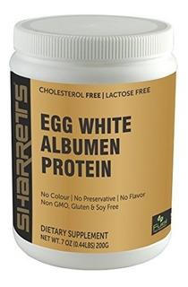 Proteína De Albúmina De Clara De Huevo En Polvo Sin Sabor 20