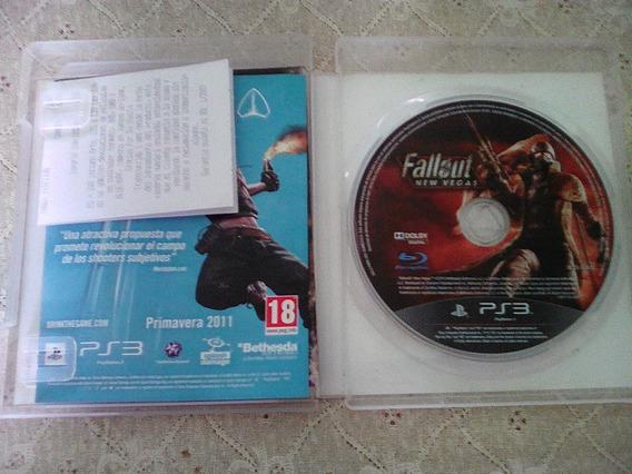 Jogo Fallout Ps3 Original Com Caixa,manual,encartes,etc