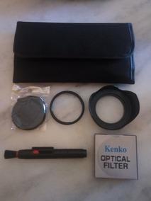 Kit Filtros, Adaptador Sx50 58mm, Parasol E Pincel.
