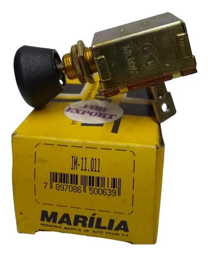 Imagen 1 de 3 de Llave Tablero Luces 1 Punto 120w Universal F100 Marilia