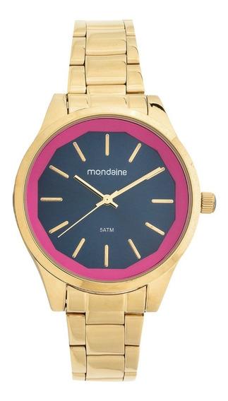 Relógio Mondaine Dourado Feminino 99093lpmvde2 Muito Barato!