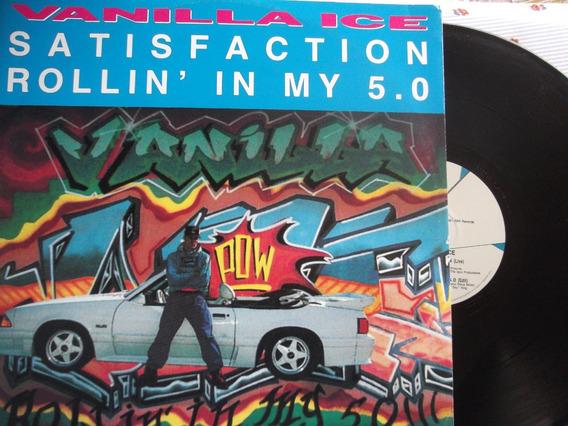 Vanilla Ice - Satisfaction / Rollin´in My 5.0 - Italy