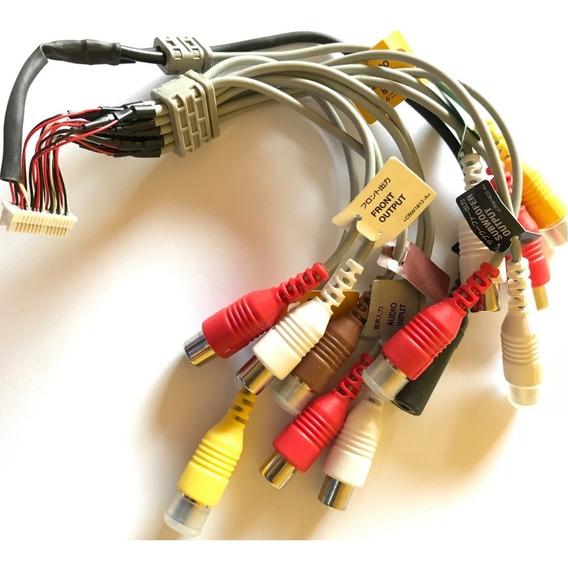 Chicote Rca Encaixe Interno Para Pioneer Avh-x7780tv = Usado