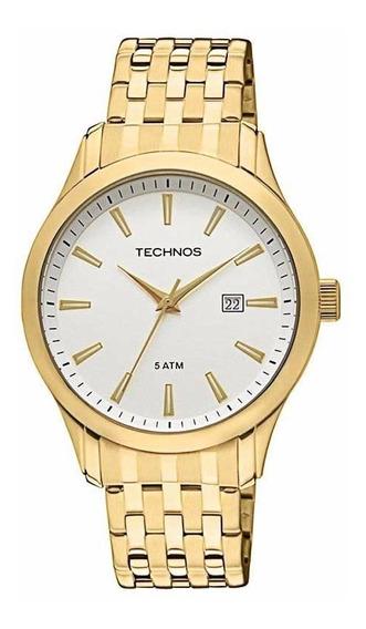 Relógio Technos Masculino Classic Steel 2115tz/4b