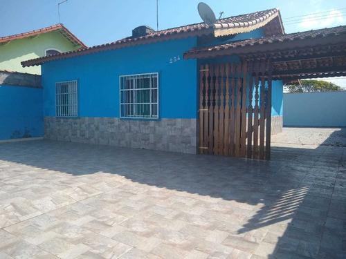 Casa Em Mongaguá Lado Praia!! Cod 221