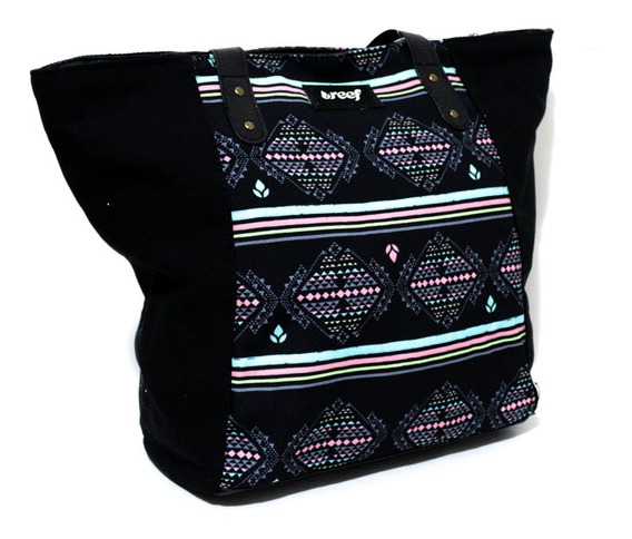 Bolso Reef Cartera Shopper 18´ Negro 100% Original