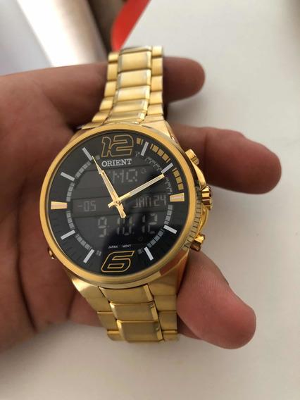 Relógio Orient Dourado /jr