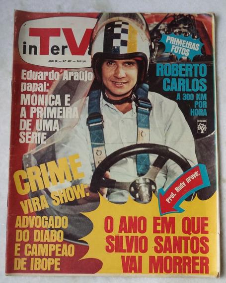 Revista Intervalo Nº 437 Capa R. Carlos