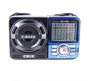 Radio Portatil Com Usb Am Fm Recarregavel Ao Melhor Preço