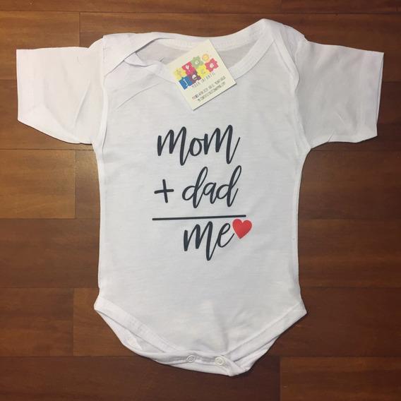 Body Infantil Mom+dad