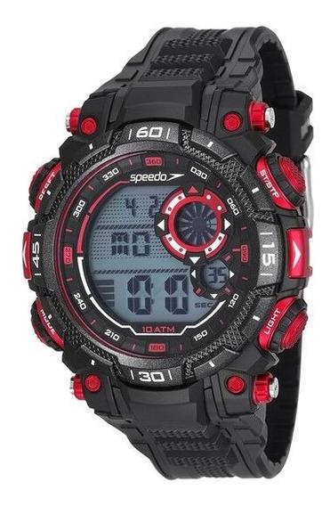 Relógio Digital Speedo 80623g0evnp3 Masculino - Preto