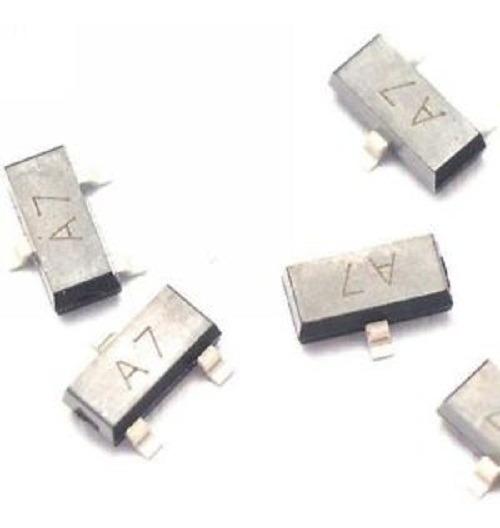 4 Transistor A7 Bav99 0.2a/70v Sot23