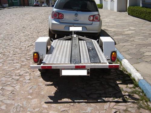 Imagem 1 de 3 de Carretinha P/moto - Engatcar C/estepe