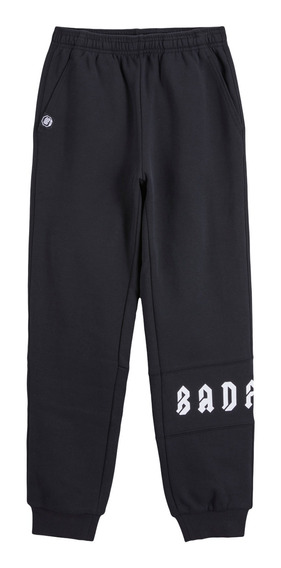 Pantalón Li-ning Casual Bad Five Niño Negro