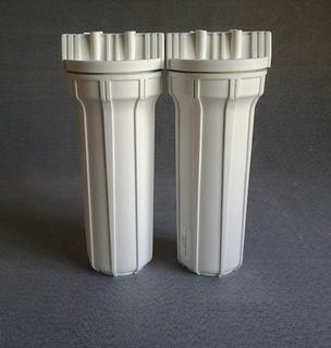 Filtro Purificador Agua Duplo 10 Tira Cloro Sujeira Garantia