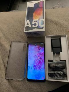 Samsung Galaxy A50 - 128gb Desbloqueado De Fábrica Dual Sim