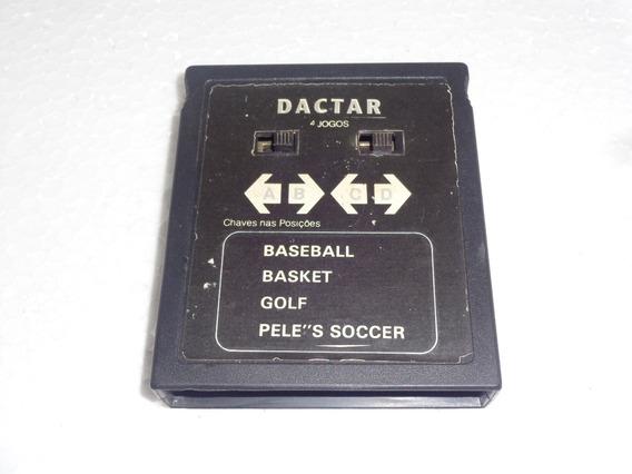 4 Em 1 Da Marca Dactar Para Atari 2600 Confira Os Jogos #6