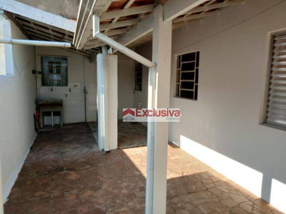 Casa Com 1 Dormitório Para Alugar, 50 M² Por R$ 900,00/mês - Jardim De Itapoan - Paulínia/sp - Ca0765