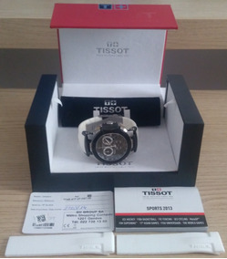 Tissot T-race T048.417.27.057.05 Original+pulseira Sem Corte