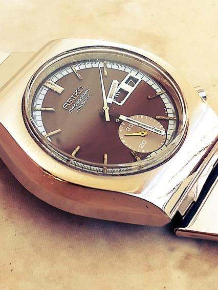 Seiko 6139 Cronógrafo Automático Lindo = Ômega Tissot Tudor