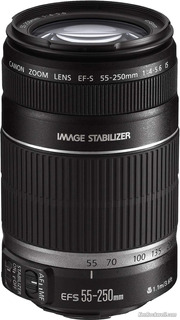Lente Canon Ef-s 55-250mm F/4-5.6 Is Stm Stabilizador.